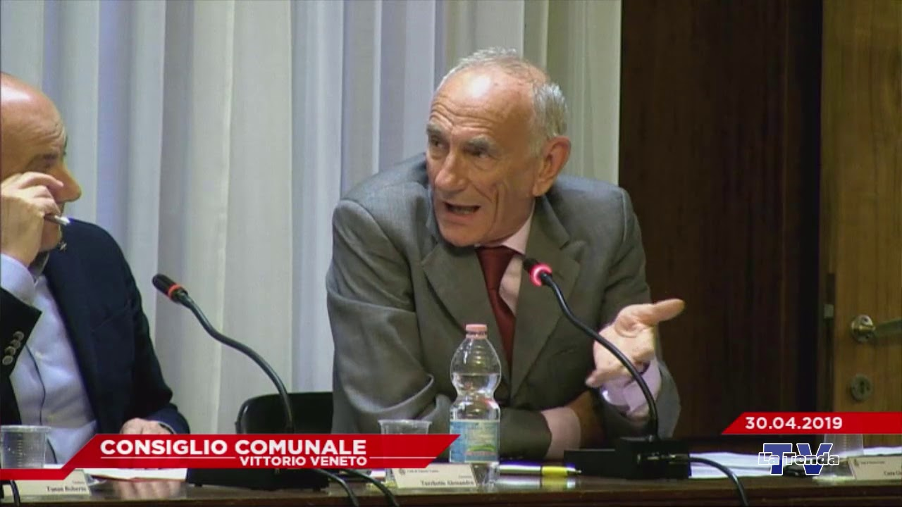 CONSIGLIO COMUNALE VITTORIO VENETO - Seduta del 30.04.2019