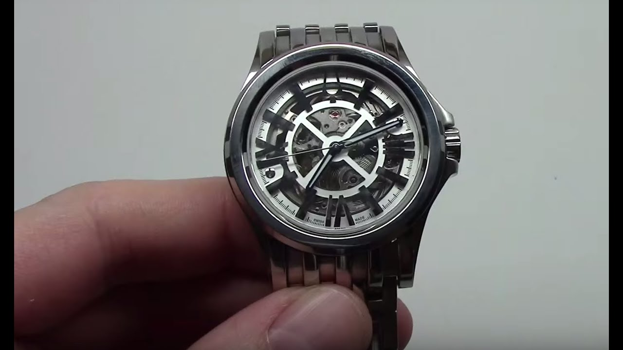 accutron by bulova mens kirkwood automatic watch review