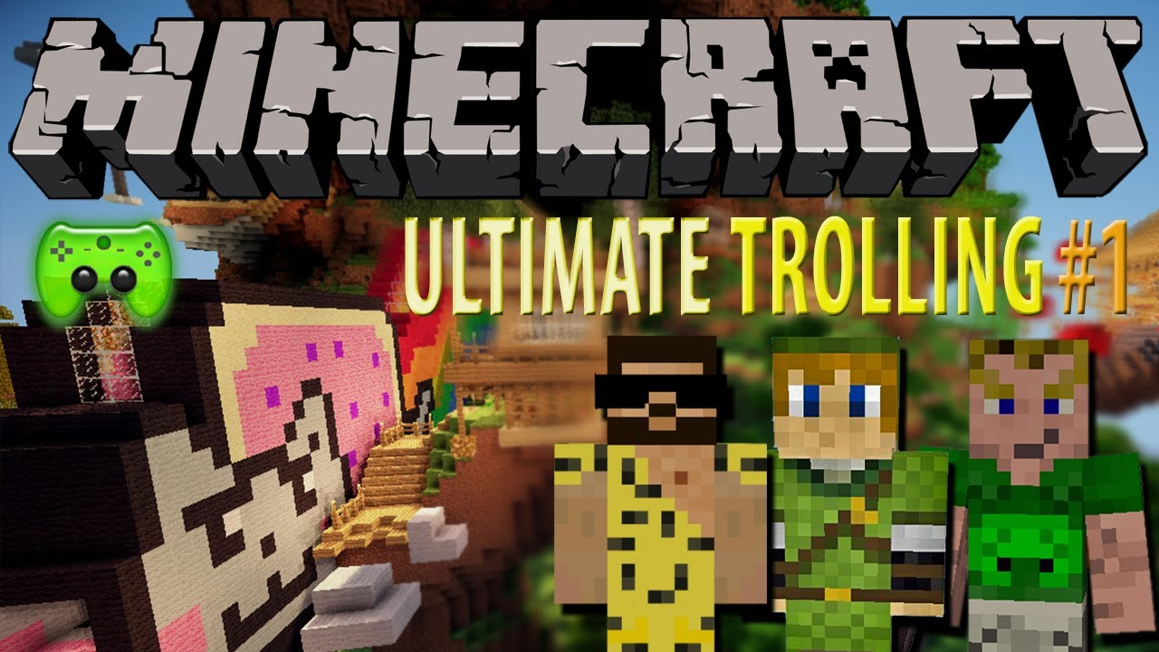 Minecraft Adventure Map 1 Epic Jump Map Ultimate Trolling