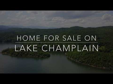 Home for Sale on Lake Champlain