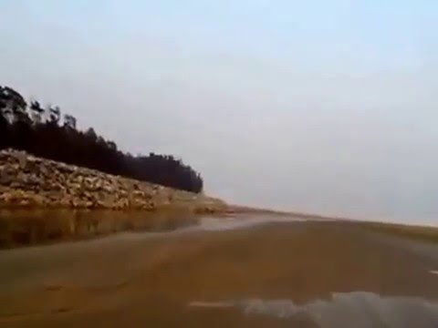 Red Crab Island - Talsari Sea Beach Orissa near Digha - Mouth of Subarnarekha River