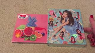 K-Pop Haul #30 (Red Velvet Ice Cream Cake (Automatic), The Velvet, Rookie, & Red Summer Unboxing)