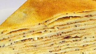 Блинный Торт «Маковка» с Заварным Кремом видео рецепт
