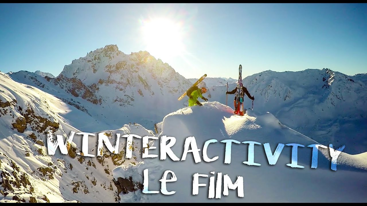 WINTERACTIVITY le Film - Ski Freeride - Eng subtitle