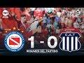 #Superliga | Argentinos le ganó a Talleres y es el único puntero de la Superliga