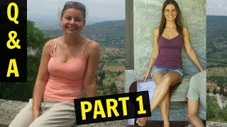 Exercise Routine & Weight Loss | Before & After | Q&A PART 1