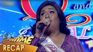 It's Showtime Recap: Miss Q & A contestants' witty answers in Beklamation - Week 20