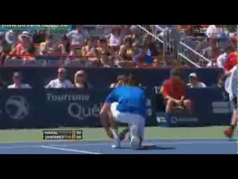 Rafael Nadal v Jerzy Janowicz | Rogers Cup 2013