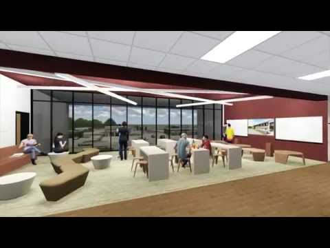 Mesquite High School Addition Interior Design
