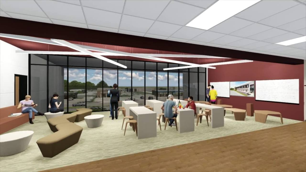 Mesquite High School Addition Interior Design YouTube