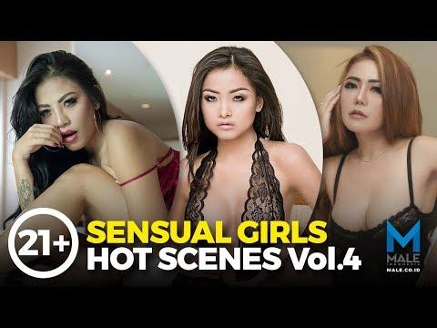 Vol.4, 21+ Cechylia Soo, Annastasya Hakim & Bebi Dee SENSUAL GIRLS HOT SCENES - Male Indonesia
