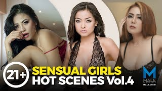 Vol.4, 21+ Cechylia Soo, Annastasya Hakim & Bebi Dee SENSUAL GIRLS HOT SCENES - Male Indonesia