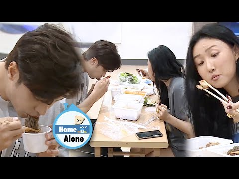 Sung Hoon & Hwasa's Mukbang Battle [Home Alone Ep 313]