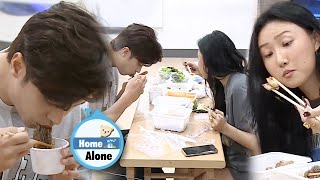 Download lagu Sung Hoon & Hwasa's Mukbang Battle [Home Alone Ep 313]