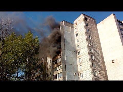 Пожар в доме 5А, Садовый пер. Тверь. Полная версия