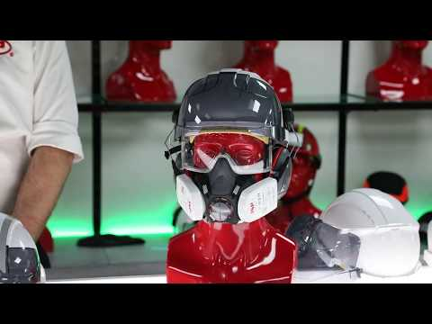 EVO® Vista™ New Industrial Safety Helmet With Integrated Eye Protection From JSP