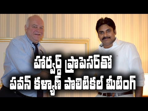 Reason behind Pawan Kalyan''s ''Political'' meeting with Steven Jarding ||