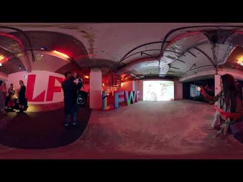 360° Video London Fashion Week Festival 2018   500 Mirror Family   Fiat UK
