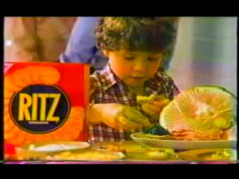 Ritz cracker commercial  1987
