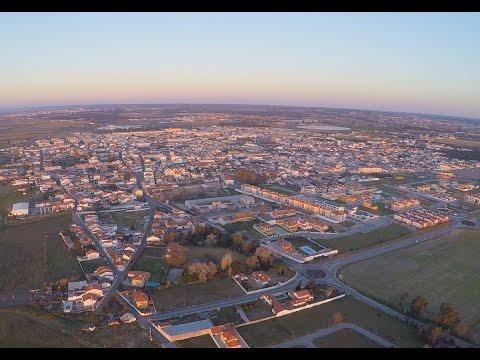 Um pouco de Almeirim com imagens aéreas 08-02-2015