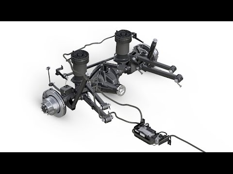 How Do Air Suspension Systems Work - Spring Rates - YouTube