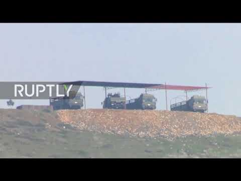 Turkey: Missiles placed on Turkish border with Syria