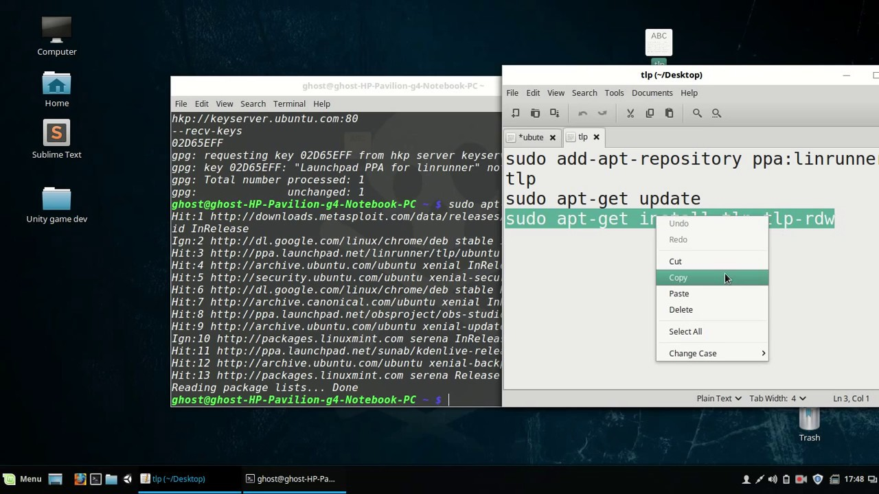 Fix Laptop OverHeating in Linux(Ubuntu, Linux Mint) | How to install TLP in  Linux