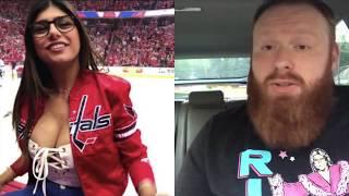 Porn Star Meets Hockey Puck
