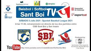 Spanish Baseball League / CBS Sant Boi - San Inazio (2 de 2)