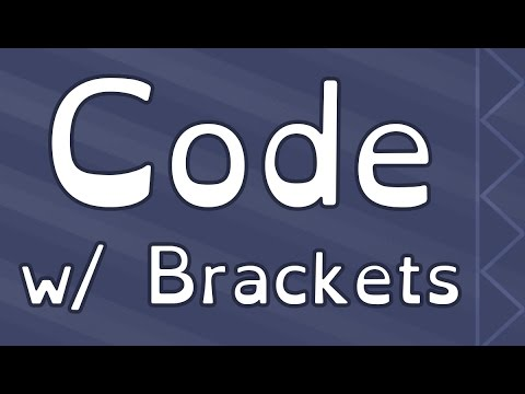Getting Started With A Code Editor: Brackets
