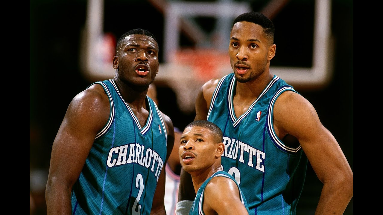 Image result for 90s charlotte hornets