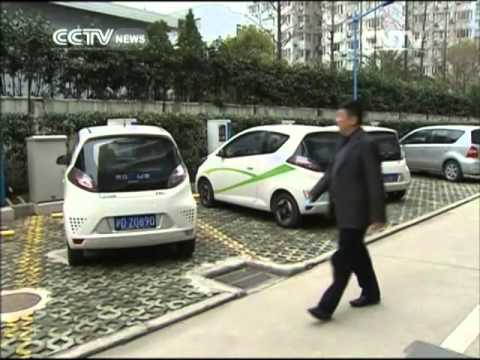 Shanghai pushes electric cars