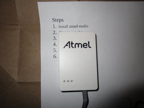 R&D #24: How to use the Atmel-Ice, step by step
