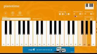 Thandavam piano time tutorial