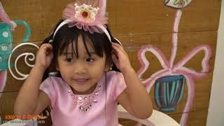 Indoor playground Baby Alive Go Byebye ELSA & ANNA Doll Fun day