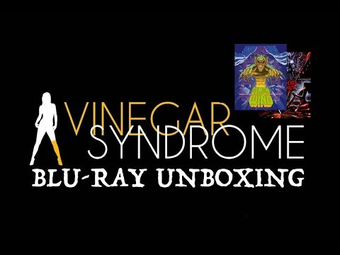 VINEGER SYNDROME NEW RELEASE BLURAY UNBOXING! DEMON WIND! BLOOD BEAT!