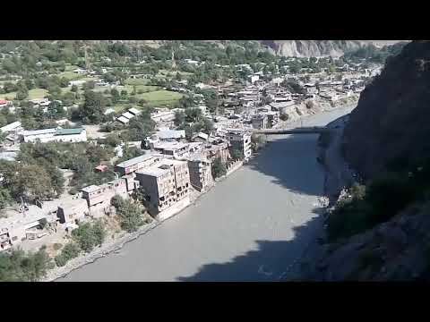 River Chitral l Chew Brigde I Denin Chitra Town