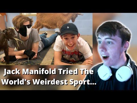 FIRST TIME WATCHING JACK MANIFOLD! | We Tried The World's Weirdest Sport… – REACTION