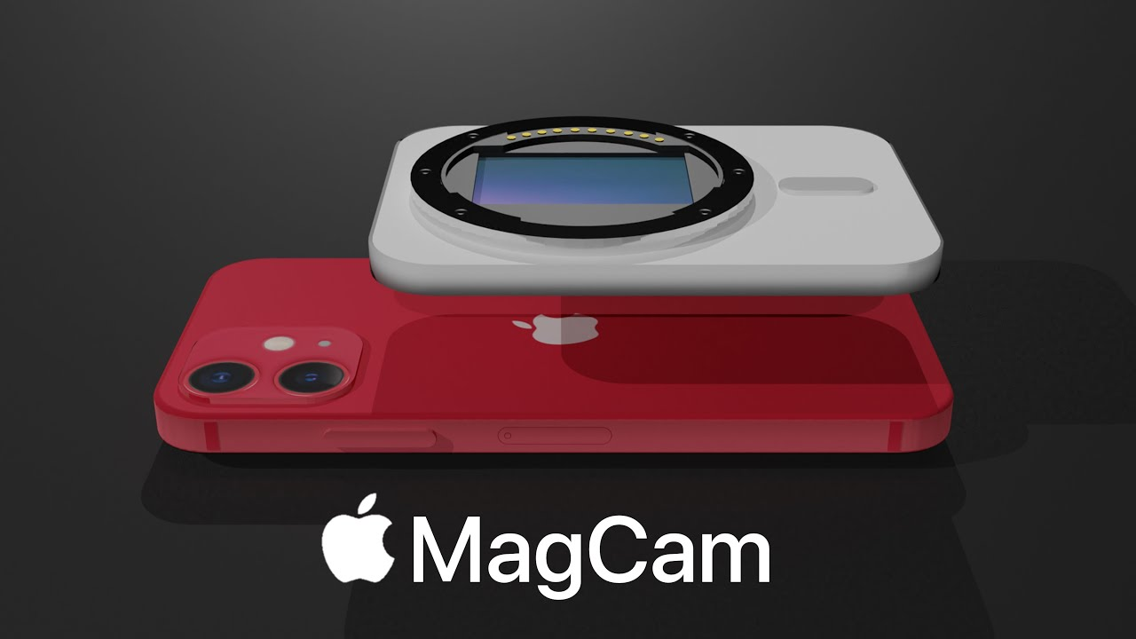 This is Apple MagCam (MagSafe Camera)