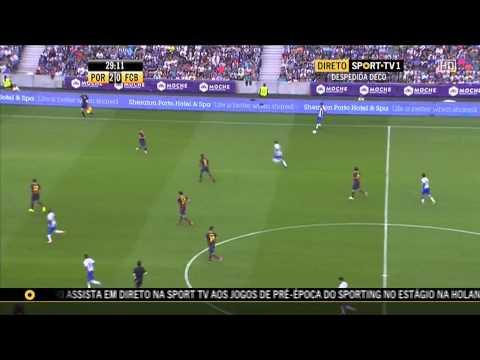 Homenagem Deco FC Porto vs Barcelona HD