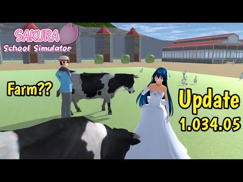 Update Farm Animals Buildings Sakura School Simulator Update