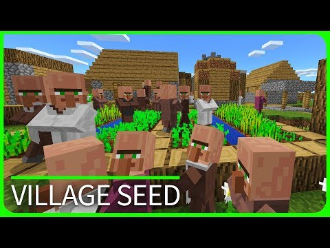 Minecraft 1.2 Seeds - 8 VILLAGES, 2 TEMPLES and 4 RAVINES - Best MCPE 1.2 / W10 / Xbox Seeds