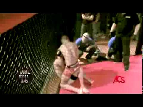 ACSLIVE TV Presents   'Michigan Battle League' ///MMA/// Brad Conklin  vs  Rodie Tookie