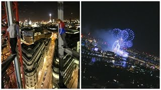 Video Watching the New Year from a Crane in London | Ally Law download MP3, 3GP, MP4, WEBM, AVI, FLV Oktober 2018