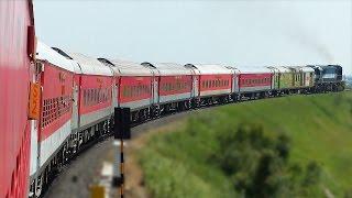 PARALLEL run and VERTICAL Crossing : Indian Railways AKOLA