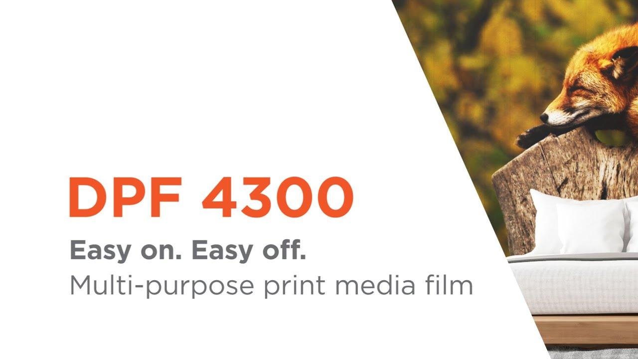 DPF 4300 - Multi-purpose polymeric print media film