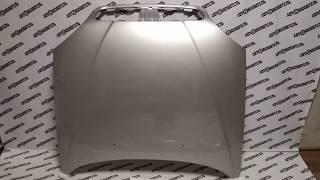 """Новый Капот Шевроле Ланос. Капот Chevrolet Lanos в цвет 7052 серебристый. Обзор от  """"Автолюбитель"""""""