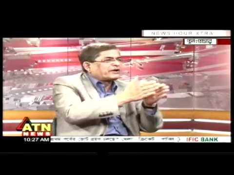 Mirza Fakhrul Islam interviewied by Munni Saha of ATN News.flv