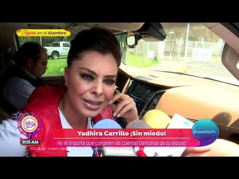 Yadhira Carrillo revela que su esposo tiene problemas de salud  Sale el Sol