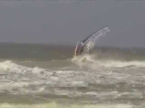 Front Loop Windsurf 5 First Wissant Youtube